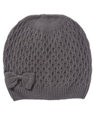 Wintersong Ribbon Knit Beanie 2-Pack - Grey