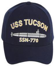 USS Tucson SSN-770 Navy Adjustable Cap