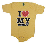 Cute Baby I Heart My Mommy Bodysuit T Shirt