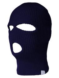 Face Ski Mask 3 Hole - Navy