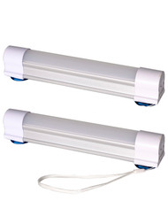 Gravity Outdoor Co. Camping/Emergency Portable USB LED Magnetic Tube Light - 2 Count