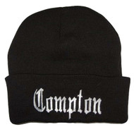 City Compton Los Angeles Beanie with Free Sunglass