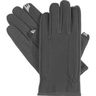 Isotoner Men's Smartouch Fleece Lined Glove, MEDIUM