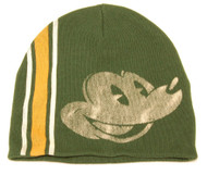 Youth Vintage Mickey Mouse Beanie Cap Hat, Forest