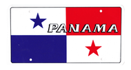 National Plastic License Plate Cover Holder, Panama