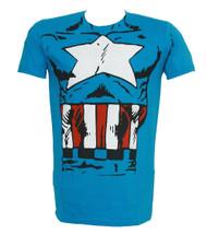 Marvel Heroes Captain America Costume T-Shirt