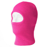 Top Headwear One Hole Neon Colored Ski Mask - Pink
