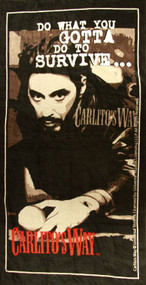 Carlito's Way Do What You Gotta Do Beach Towel