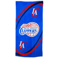 McArthur Sports Los Angeles Clippers NBA Beach Towels