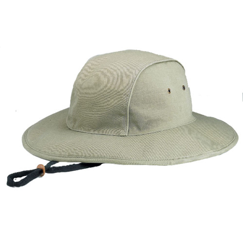 WASHED BLEND TWILL BUCKET HAT