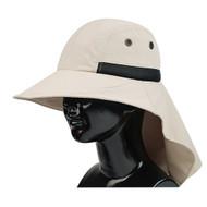 LARGE BILL FLAP CAP W/MOISTURE WICKING SWEATBAND
