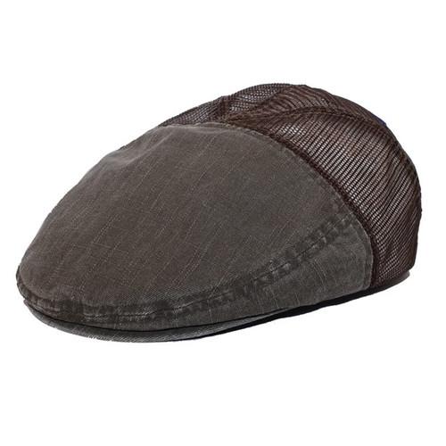 WASHED COTTON SLUB HEAVY TWILL IVY CAP