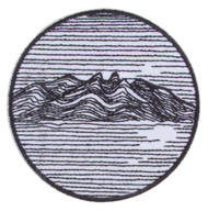 Gravity Trading Mountainscape Linework Patch