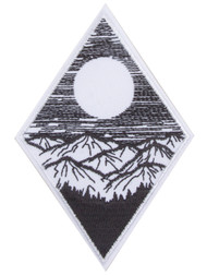 Gravity Trading Minimalistic Trees Mountain Sky Patch