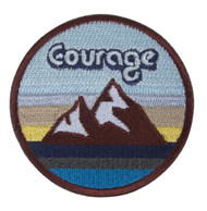 C&D Visionary Courage with Mountains Patch