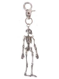 Spooky Skeleton Keychain