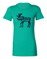 Great Outdoors Water-Based Women's Cotton T-Shirt