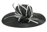 ChicHeadwear Classy Gem Butterfly Braid Church Hat