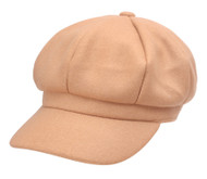 Top Headwear Felt Beret w/ Brim Cap