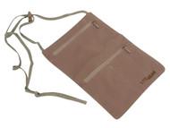 Lite Gear RFID-Soft Neck Wallet, Tan, One Size