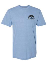 Gravity Outdoor Co. Van Life Pocket Logo Triblend Track T-Shirt