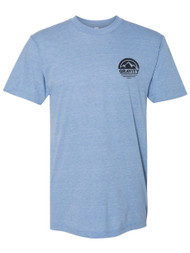 Gravity Outdoor Co. Circle Pocket Logo Triblend Track T-Shirt