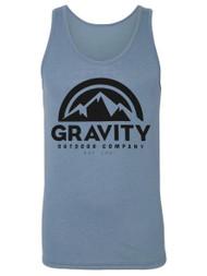 Gravity Outdoor Co. Logo Tri-Blend Tank Top