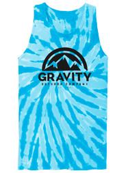 GOC Mountain Water-Based Mens Tie-Dye Tank Top