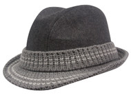 Top Headwear Wool Blend Fedora