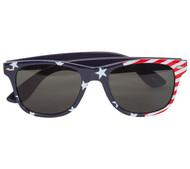 Gravity Shades USA Stars and Stripes Horned Rim Sunglasses