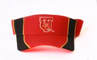 Tuskegee University Sun Visor - Red