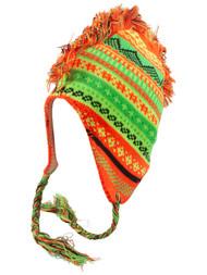 Top Headwear Peruvian Chullo Hat - Mohawk Mountain