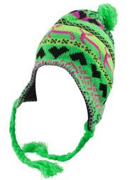 Top Headwear Peruvian Chullo Hat - Llama