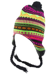 Top Headwear Peruvian Chullo Hat - Mountain
