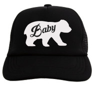 Gravity Trading Baby Bear Youth Adjustable Trucker Hat