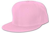 Flat Bill/ Visor Acrylic Caps- Pink