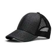 New Solid Straw Trucker Structured Hat Cap