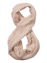 Knitted Infinity Scarf - Khaki