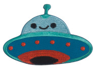 Application UFO Smiley Face Patch