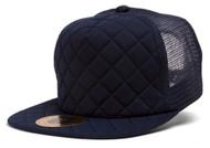 TopHeadwear Quilted Adjustable Trucker Hat