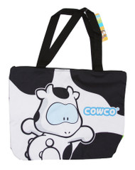 Cute Cowco Cartoon Cow Character Tote Bag
