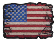 C&D Visionary Tattered US Flag Patch