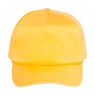 Cotton Twill Golf Cap - Gold