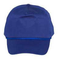 Cotton Twill Golf Cap - Royal