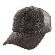 Top Headwear Floral Pattern Casual Baseball Cap
