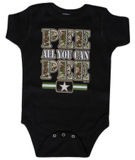 """Toddlers """"Pee All You Can Pee"""" Bodysuit"""