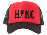 Hike Thunderbolt Adjustable Foam Mesh Trucker Hat