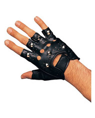 Single Right Hand Studded Costume Glove