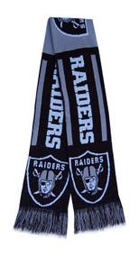 Oakland Raiders NFL Team Scarf
