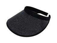 Top Headwear Toyo Braid Clip-On Visor